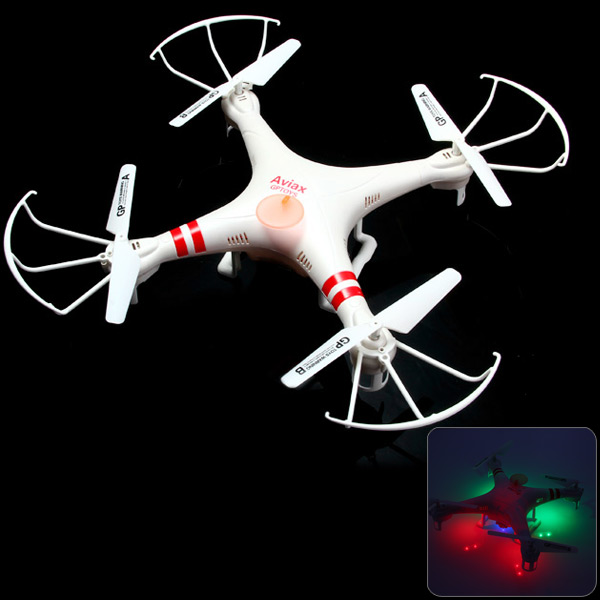 GPTOYS F2C Aviax Headless Mode Cruise Control 2.4G 4CH RC Quadcopter with 2.0MP HD Camera + 360 Degree Rotation Function