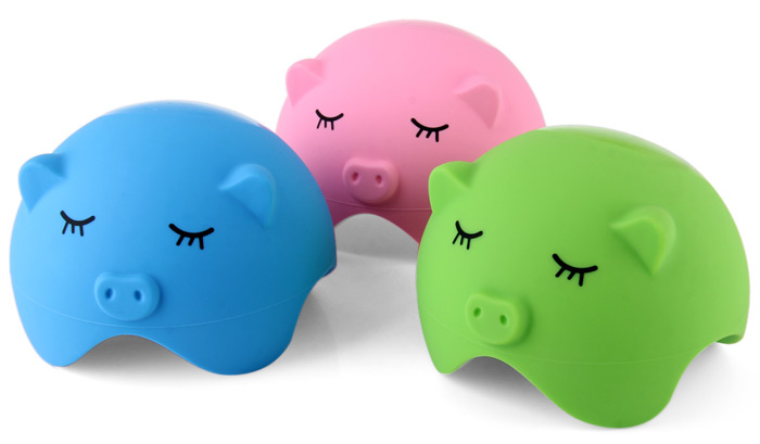 Pig Style Silicone Suction Stand Cable Storage