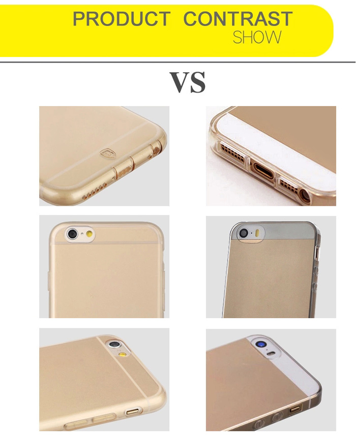 Baseus Ultrathin TPU Material Transparent Back Cover Case for iPhone 6 - 4.7 inches