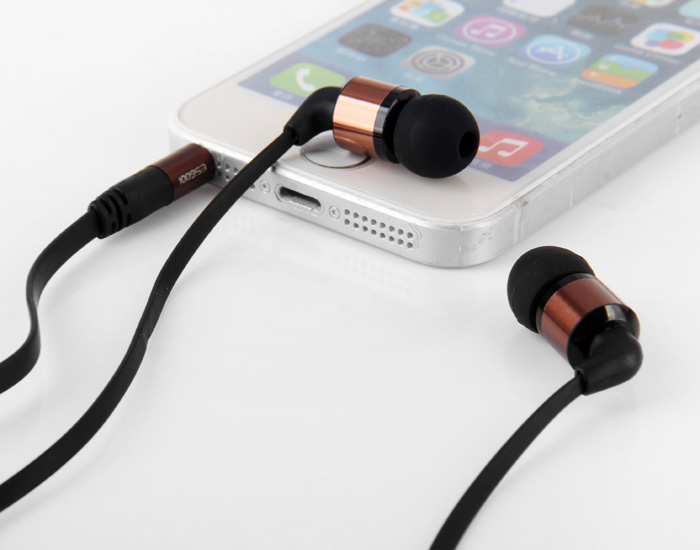Awei ES600i Super Bass In-ear Earphone with 1.2m Cable Mic for Smartphone Tablet PC
