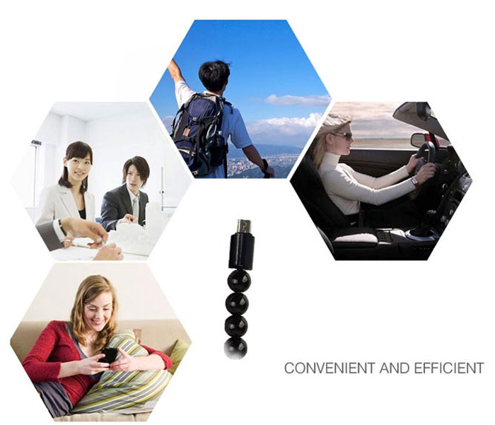 Practical Bracelet Style Micro USB Interface Charging and Sync Cable