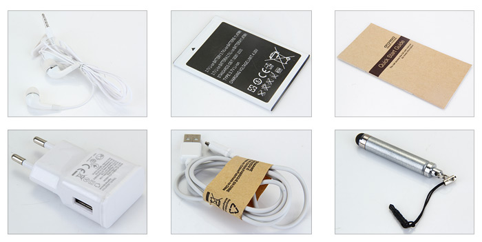 M9 Android 4.4 3G Smartphone 5.5 inch Phablet HD Screen MTK6582 Quad Core 1.3GHz 4GB ROM