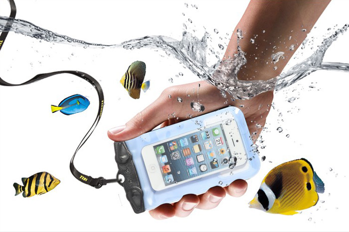 Tteoobl Multi-use Phone Bag 20m Water Resistant Pack Cycling Hiking Diving Drift Necessaries