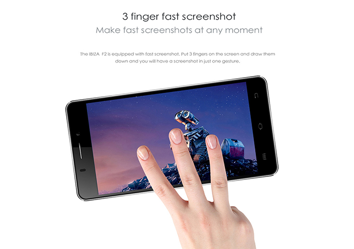 5.0 inch DOOGEE IBIZA F2 Android 4.4 4G LTE Smartphone with MTK6732 1.5GHz Quad Core 1GB RAM 8GB ROM QHD Screen GPS