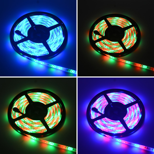 Hml 5m 30w 300 X Smd 3528 Water Resistant Flexible Rgb Led