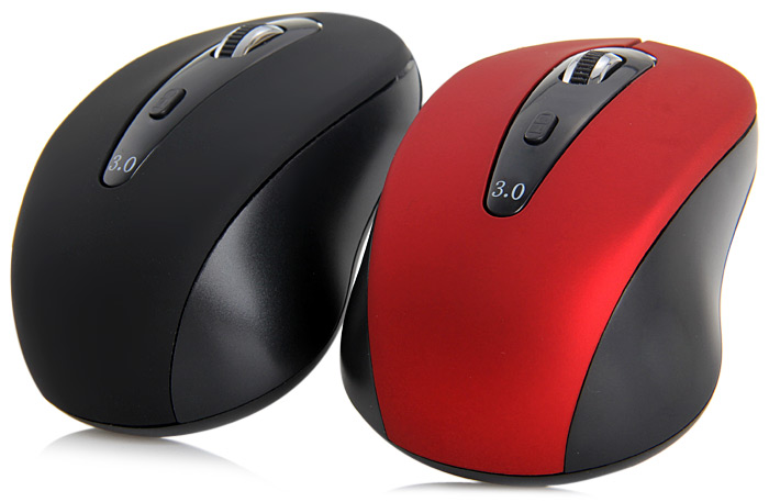 2.4G Wireless 6D Bluetooth 3.0 Optical Mouse with 1600DPI for Laptop Notebook