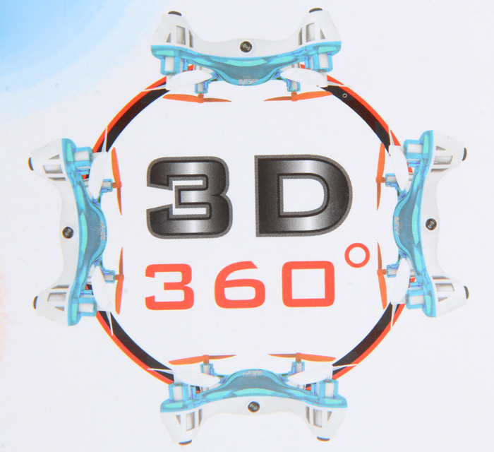 HT F803C Quadcopter 3D Fly 2.4GHz 6 Axis Gyro RC Copter with 1.0MP HD Camera Headless Mode Aircraft