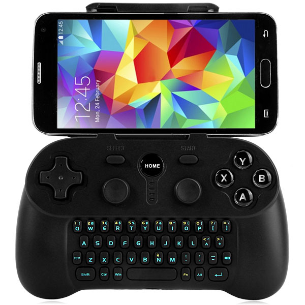 Wireless Bluetooth 3.0 Gamepad with Keyboard