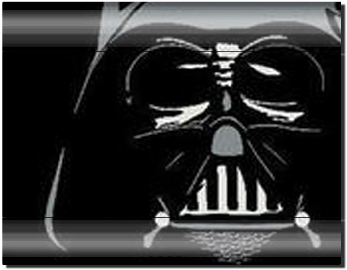 Darth Vader Pattern Stickers for PS3 Remote Controller and Playstation