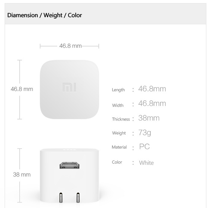 Original XiaoMi MIUI TV Box MT8685 Quad Core Android 4.4.2 H.265 Decoder 1GB RAM 4GB ROM WiFi Bluetooth 4.0 Connectivity Only for chinese
