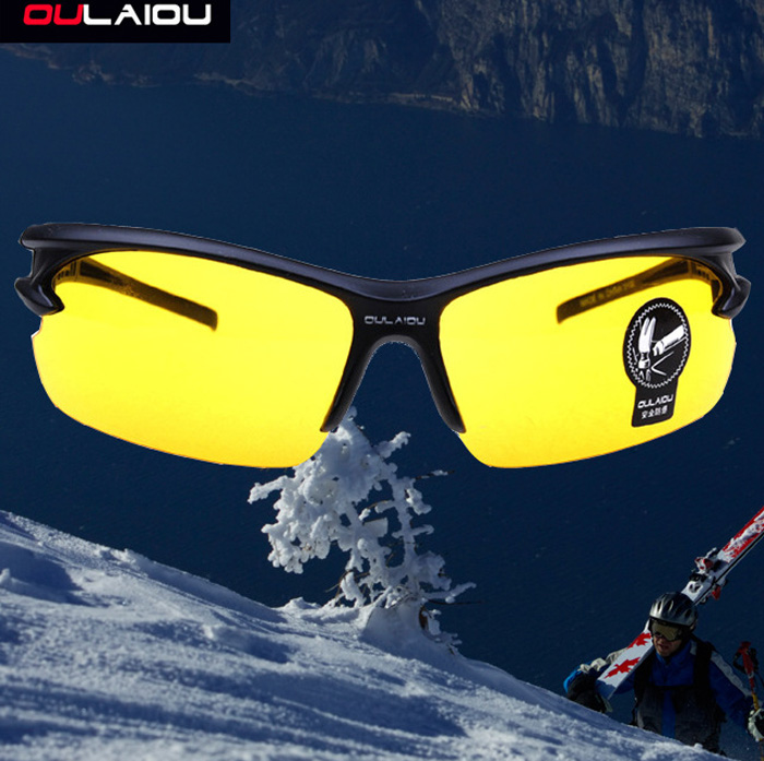 OULAIOU Explosion-proof Sports Sun Glasses for Outdoor Activities