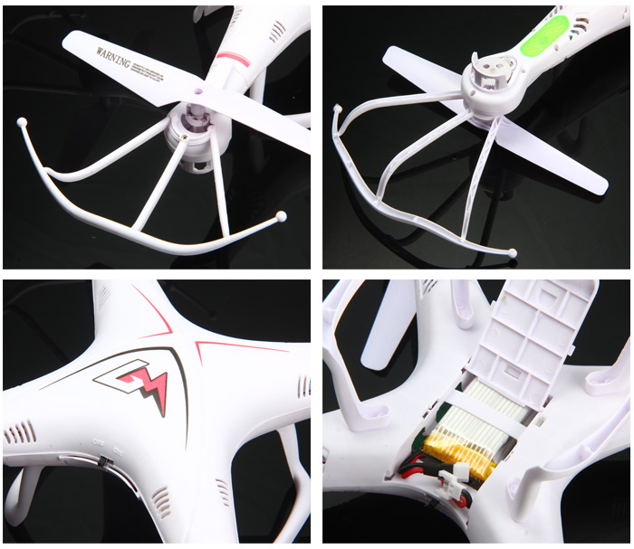 Bo Ming Toys M3 6 Axis Gyro 6CH 2.4G RC Quadcopter with Headless Mode