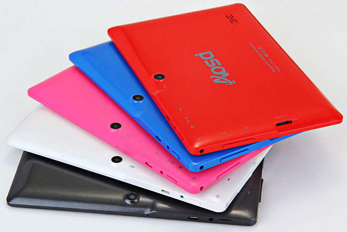 6.9 inch Q88H Android 4.4 Tablet PC WSVGA Screen A33 Quad Core 1.3GHz 512MB RAM 8GB ROM WiFi Bluetooth