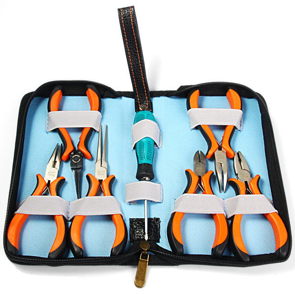 WLXY 7 in 1 Cutting Cutter Pliers Set for Jewellery Making Professional Compact Tools