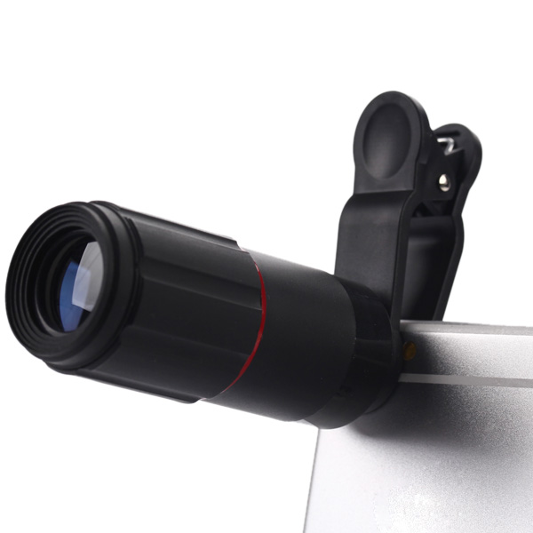 8x Optical Zoom Mobile Phone Telephoto Lens with Clip for iPhone / Samsung / Xiaomi Smartphone