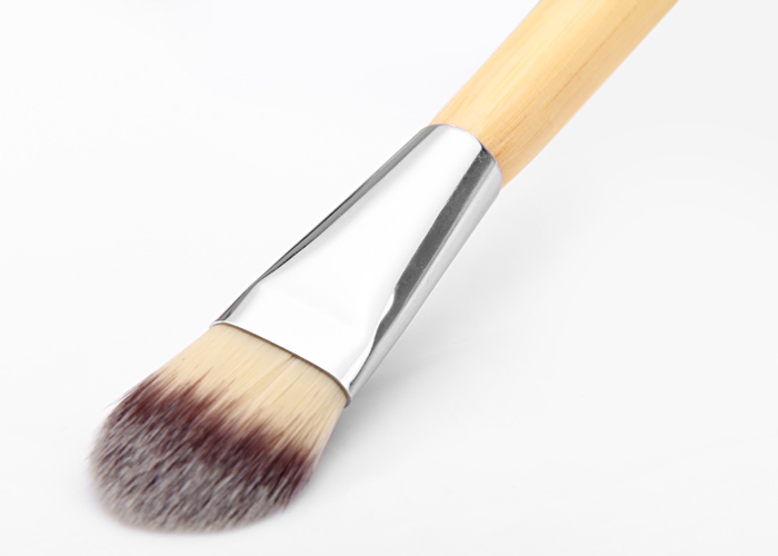 Fashion Beauty Make-up Facial Mask Brush with Wooden Handle for Cosmetic Supplies