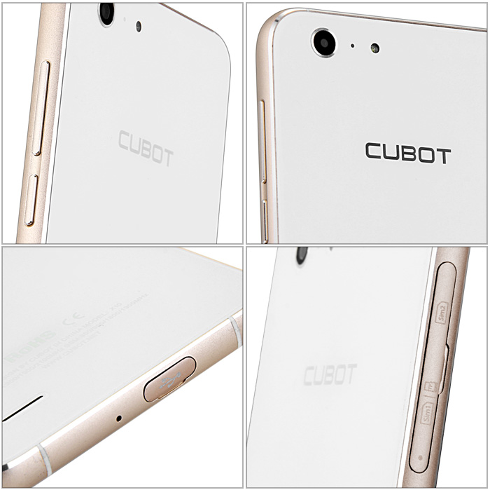5.5 inch CUBOT X10 Android 4.4 Smartphone 3G Phablet HD IPS Screen MTK6592 Octa Core 1.4GHz 2GB RAM 16GB ROM 13.0MP Camera Waterproof