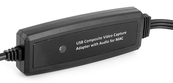 USB 2.0 to Video / Audio Interface Capture Adapter for Apple Mac