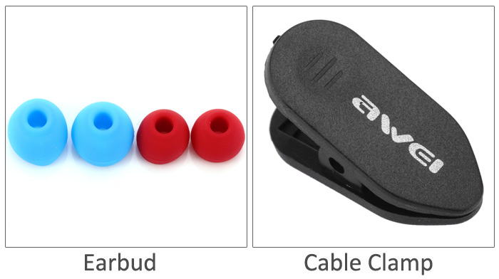 Awei TE800i Noise Isolation In-ear Earphone with 1.2m Cable Mic for Android Smartphone
