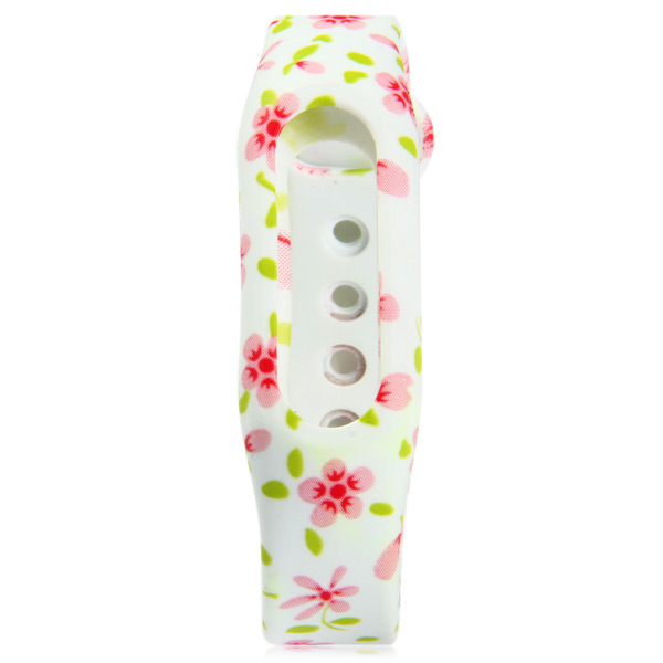 TPU Strap Small Floral Band for Xiaomi Miband / 1S