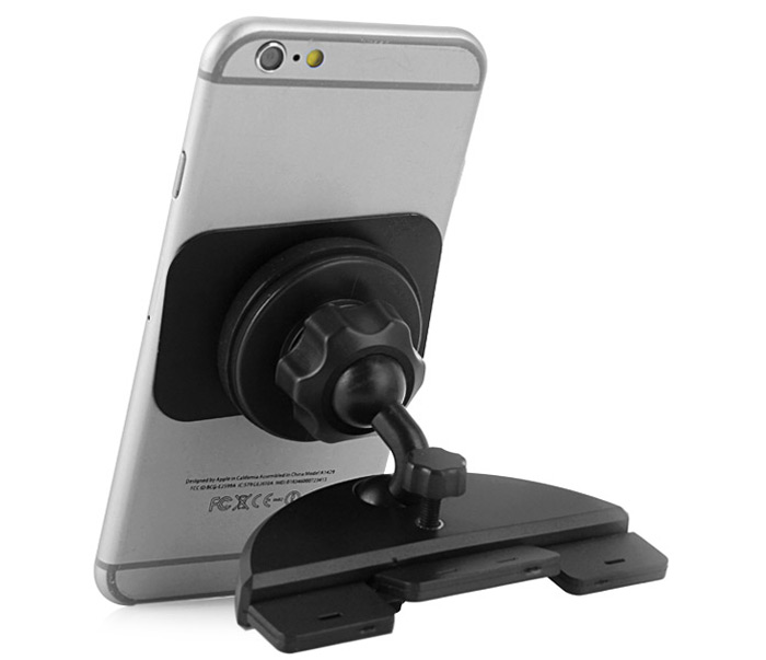 Practical Car CD Slot Phone Mount Magnetic Holder for iPhone 6 / 6 Plus 5 5S Samsung HTC etc.