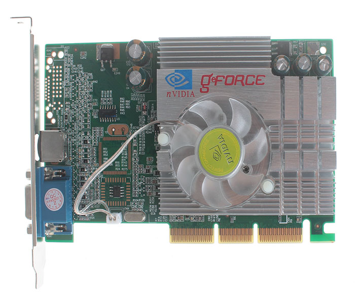 Practical NVIDIA GeForce FX5200B 256MB AGP 8X Graphics Card with Cooler Fan