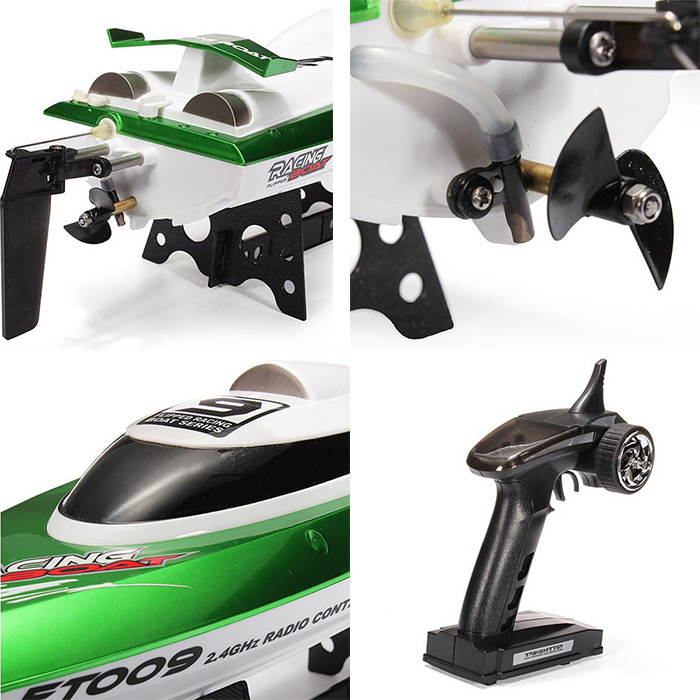 FeiLun FT009 2.4G RC Racing Boat High Speed Yacht