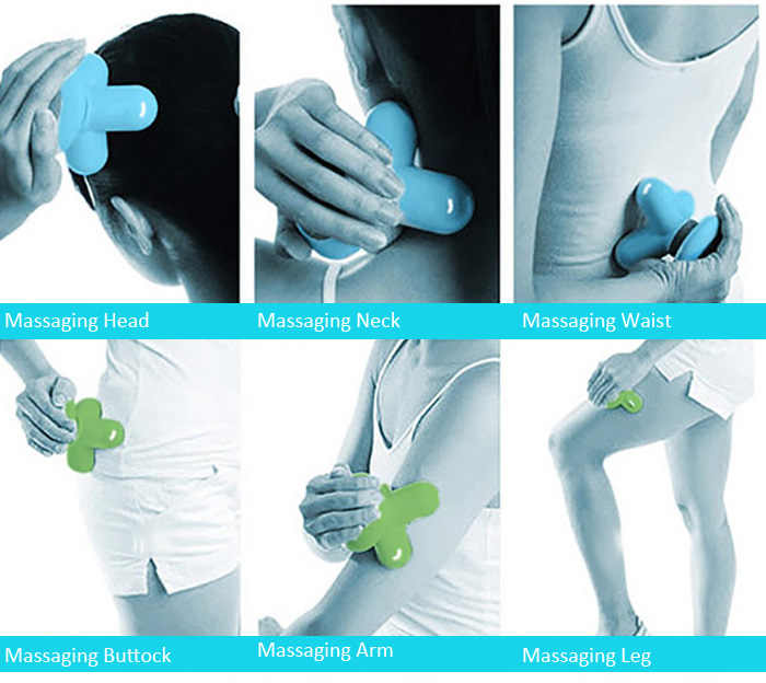 Mini Multifunctional USB Electric Body Massager Household Tool for Health Care Massage