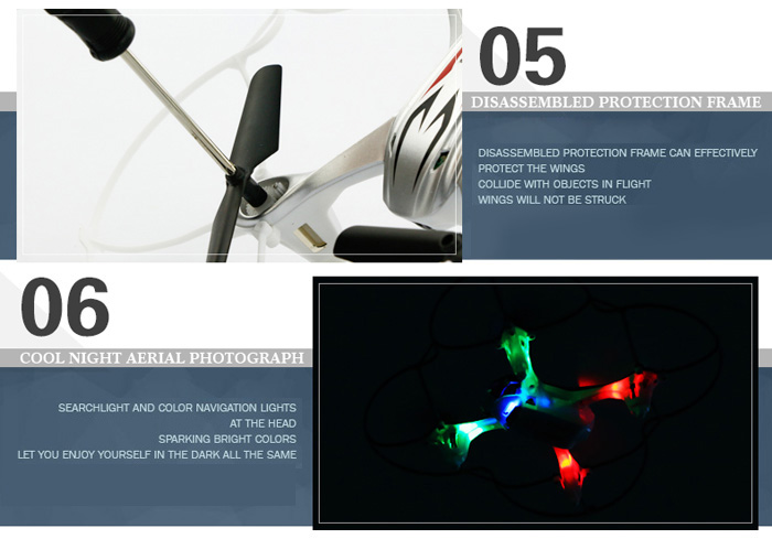 MOONTOP MT 9916 6 Axis Gyro 2.4G 4CH RC Quadcopter with 0.3MP Camera 360 Degree Eversion Function