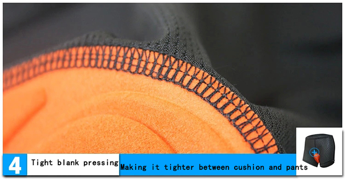 Arsuxeo H001 Quick-drying Cycling Pants Underpants with Silicone Cushion Bike Bicycle Trousers Clothes