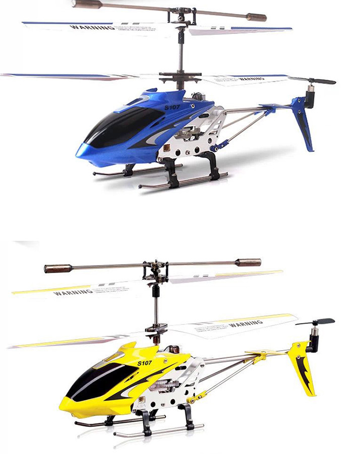 Syma S107G 3CH Remote Control Helicopter Alloy Copter with Gyroscope