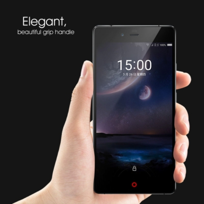 5.5 inch ZTE Nubia Z9 Max Android 5.0 4G Phablet with Qualcomm Snapdragon 615 64bit Octa Core 3GB RAM 16GB ROM GPS FHD Screen