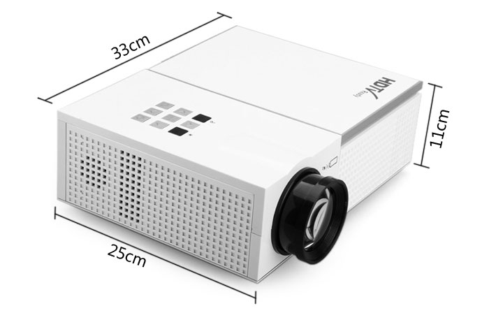 Faylan S800HD 1280 x 800 Resolution Portable LED Projector Home Cinema Theater