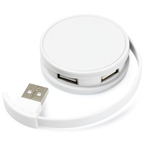 4 USB Ports Smart HUB USB Charging Adapter with USB Interface Cable