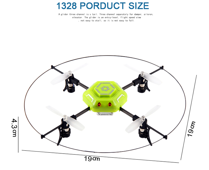 Helic Max 1328 2.4GHz 4CH RC Quadcopter 360 Degree Rollover Master