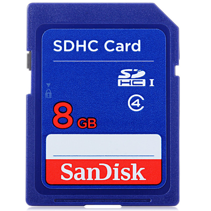 SanDisk SDHC Professional 8GB SD Extra Memory Card ( 10MB/s Class 4 )