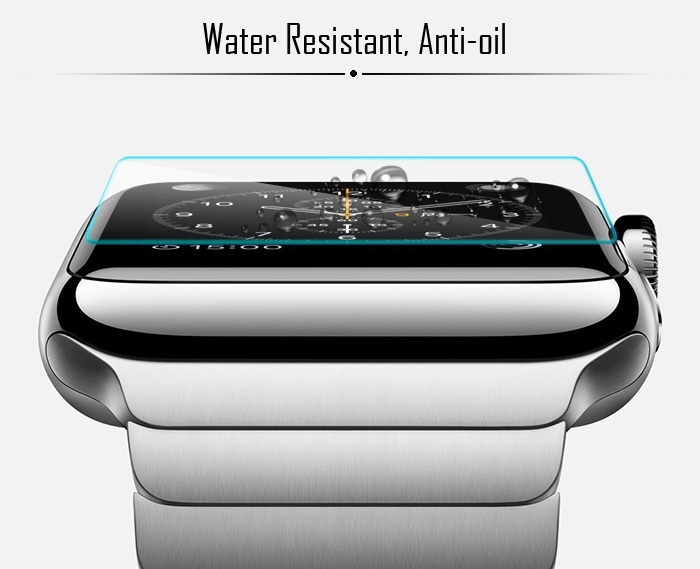 0.9H Toughened Glass Film High Definition 0.26mm Ultra Thin Tempered Glass Screen Protector Anti-shatter for iWatch Apple Watch 42mm