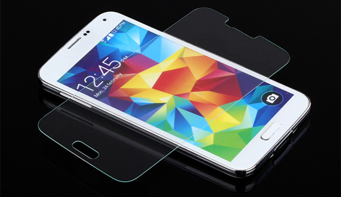 Ultrathin 0.26mm 9H Hardness Real Tempered Glass Screen Protector for Samsung Galaxy S5 i9600 SM-G900