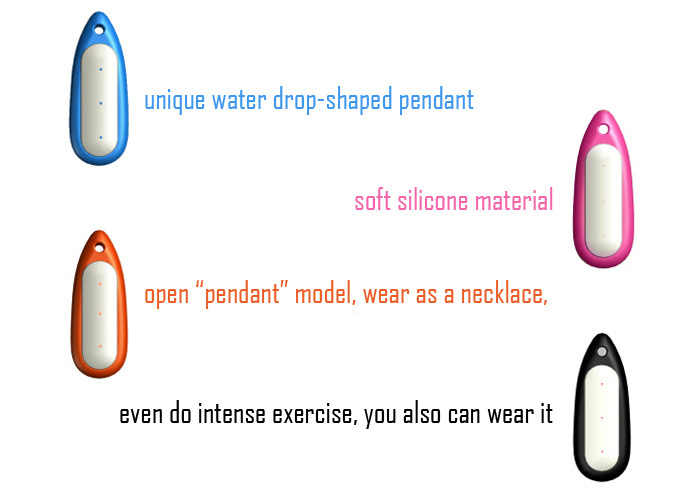 Water Drop-shaped Necklace Pendant for Xiaomi Miband