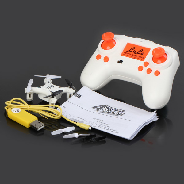 8801 Mini Headless Mode 6 Axis Gyro 2.4GHz 4CH RC Quadcopter with 360 Degree Rollover Function