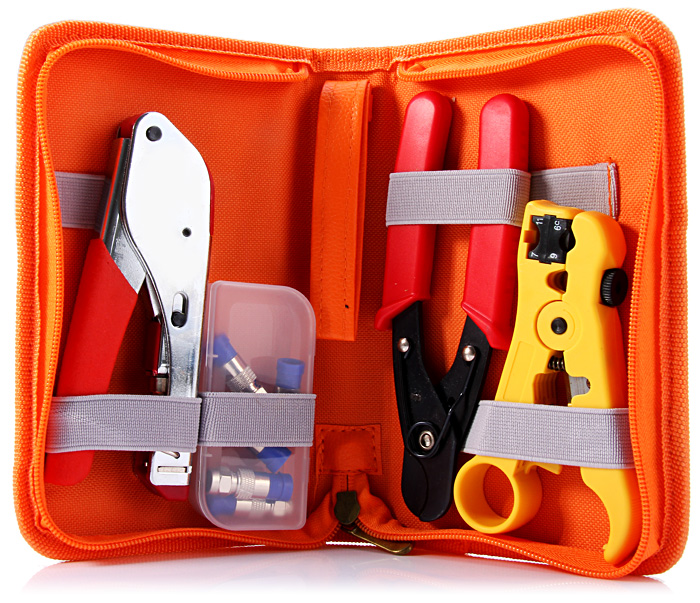 WLXY WL - 35 Professional Network Tools Kit with Pressing / Cutting / Stripping Pliers / F Head