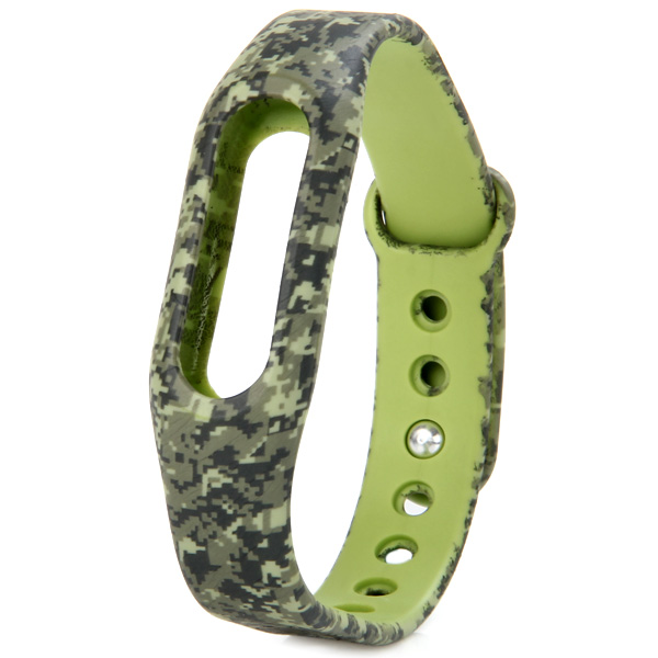 Camouflage TPU Strap Band Case for Xiaomi Miband / 1S