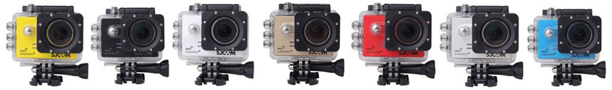 SJCAM SJ5000 Plus Ambarella A7LS75 WiFi 1.5 inch LCD Screen Car Camcorder 1080P Sports HD DV with Water Resistant Case