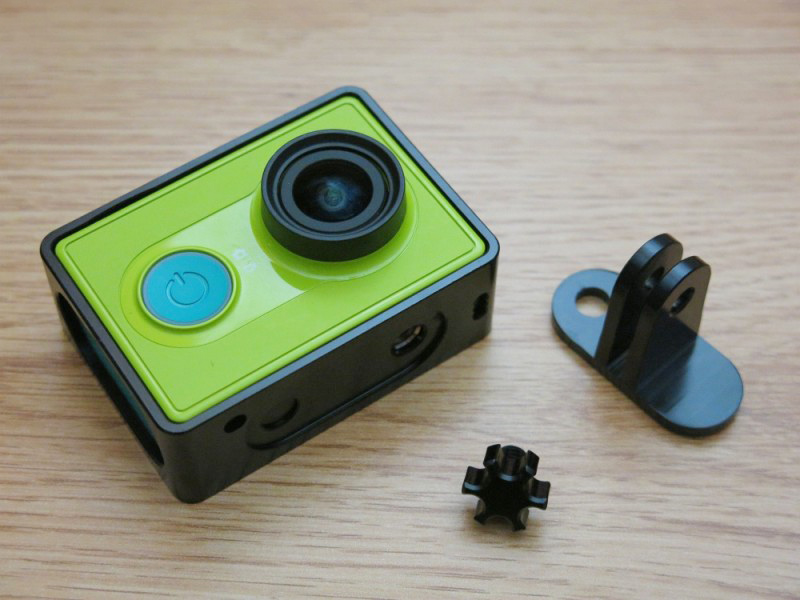 Aluminum Alloy Shell Protective Cover Frame for XiaoMi Yi Sports Action Camera