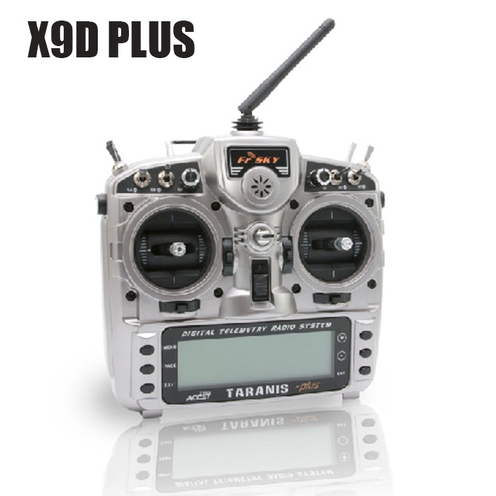 FrSky Taranis X9D Plus Transmitter 16CH RC Controller with X8R Receiver