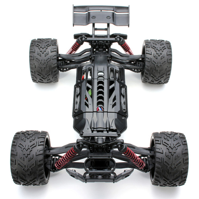 9116 1 / 12 Scale 2.4G 4CH RC Truck Car Toy with 2 - Wheel Driven Electric Racing Truggy