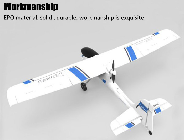 Volantex Ranger 757 - 4 EPO 1380mm Wingspan RC Glider Brushless Motor Airplane RTF with Mountable FPV
