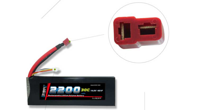 DLG 3S 30C 2200mAh 11.1V 60C Instantaneous Rate Battery for RC Car Aircraft etc. Spare Parts