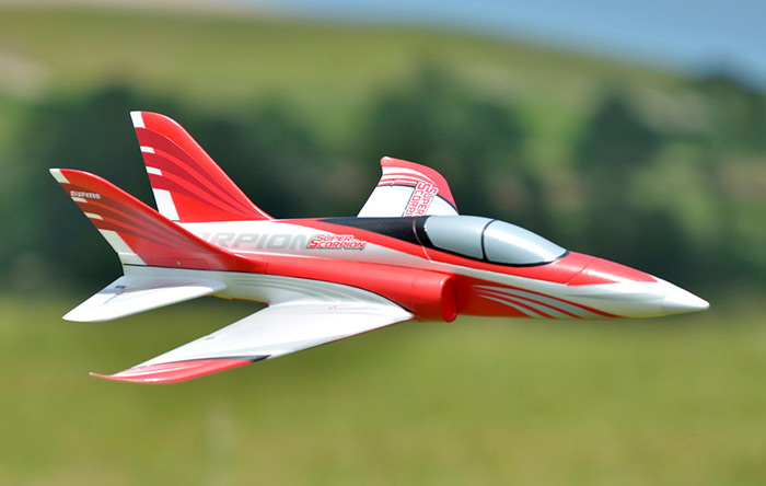FMS 70mm 12 Blade Ducted Fan EPO Material Double Vertical Tail Racing Airplane PNP Version