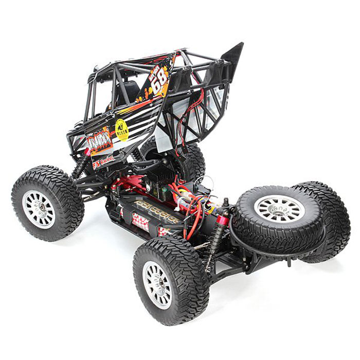 FS 1 / 10 4WD RC Truck with Roll Cage - Desert Buggy Style  EU Plug